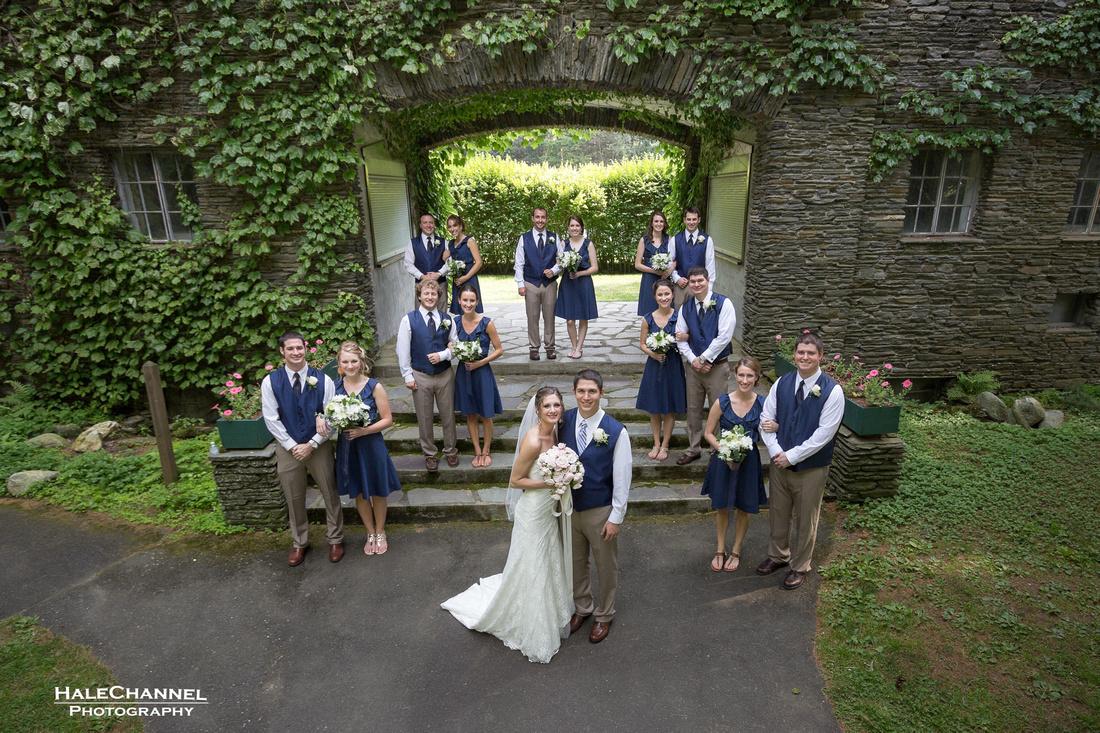 garden house wedding