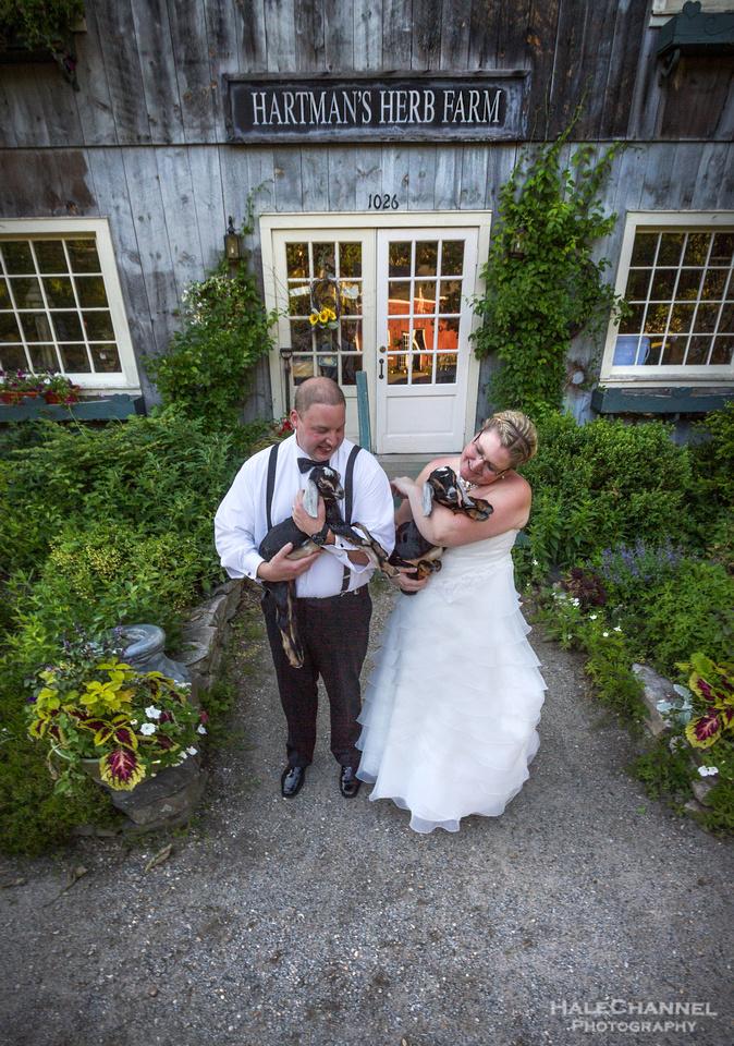 Rustic wedding farm ma