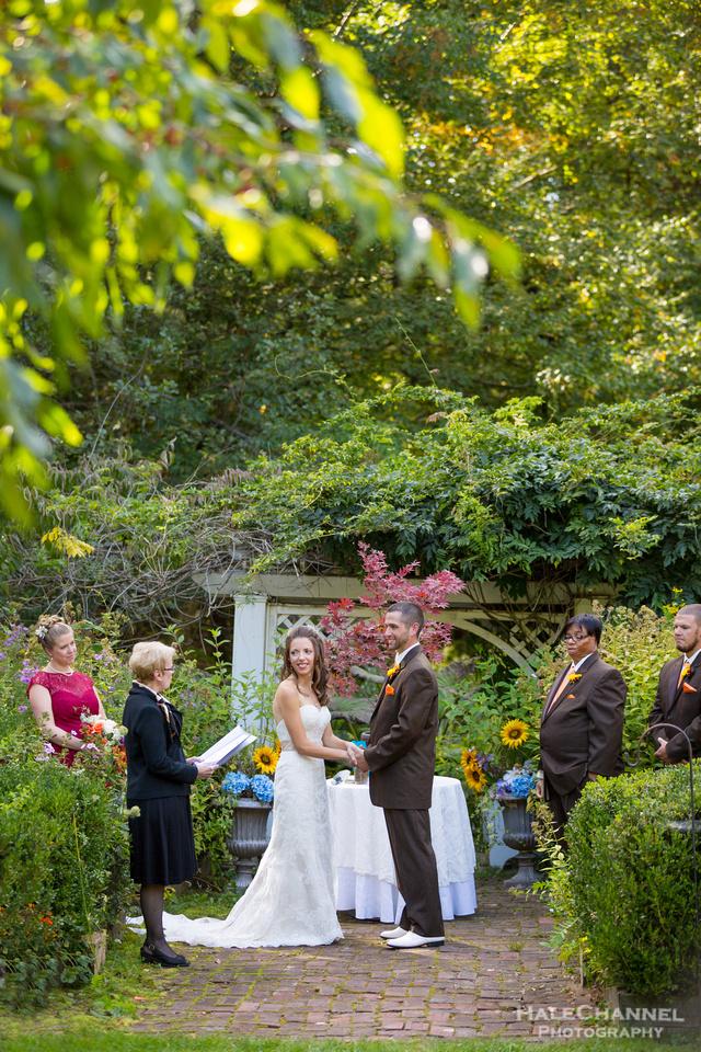 ceremony Hartman's Herb Farm