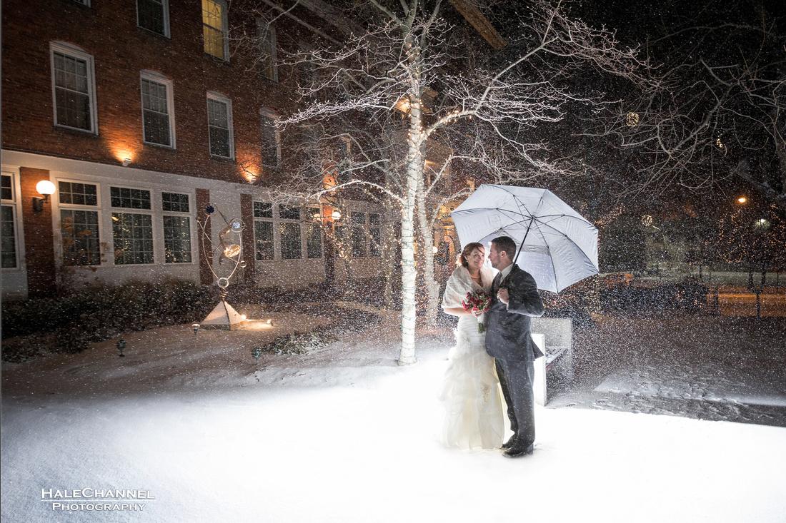 northampton winter wedding